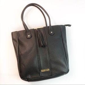 Kenneth Cole Reaction tote handbag large black